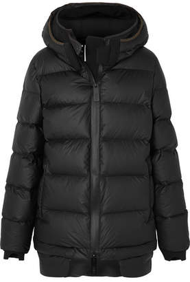 TEMPLA - Memba Hooded Quilted Shell Down Coat - Black