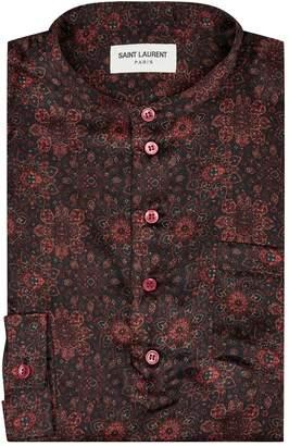 Saint Laurent Silk Paisley Shirt