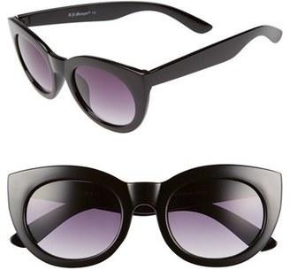 A.J. Morgan 'Inga' 50mm Sunglasses $24 thestylecure.com