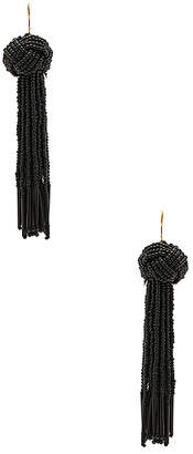 Vanessa Mooney x REVOLVE Darla Earrings in Black. $55 thestylecure.com