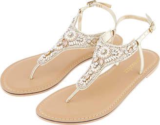 Accessorize Athens Embellished Sandals