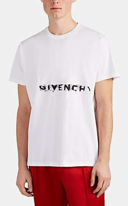 Givenchy Men's Logo Cotton T-Shirt - White