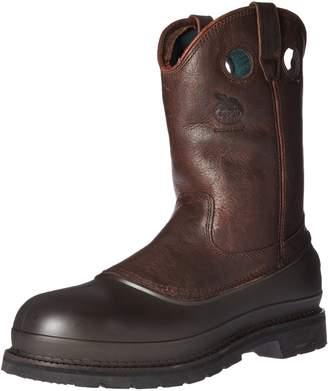 "Georgia Boot Men's Mud Dog 12"" Pull On Steel Shank Work Boot"