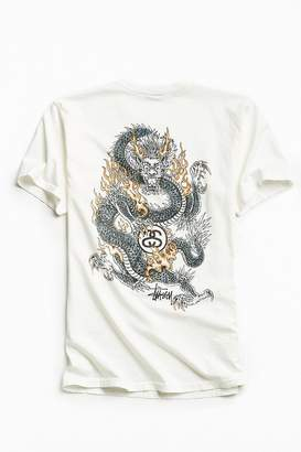 Stussy Fire Dragon Tee $38 thestylecure.com