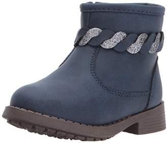 Osh Kosh Girls' Chains Braided Ankle Fashion Boot