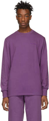 Leon Aime Dore Purple Logo Long Sleeve T-Shirt