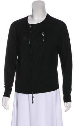 DSQUARED2 Wool Zip-Up Cardigan
