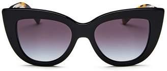 Valentino Women's Oversized Cat Eye Sunglasses, 51mm