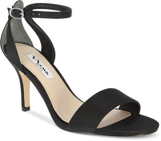 Nina Venetia Ankle-Strap Evening Sandals Women Shoes