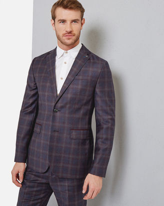 Checked wool jacket $559 thestylecure.com
