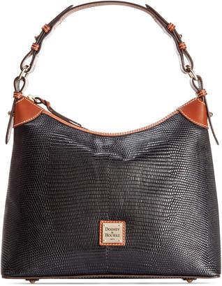 Dooney & Bourke Lizard-Embossed Leather Hobo