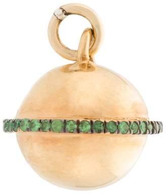 Ileana Makri Eye M By embellished necklace pendant