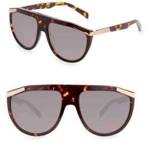 Balmain Smoked Shield Sunglasses