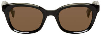 Raen Black Clemente Mirror Sunglasses