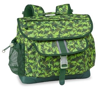 Boy's Bixbee 'Large Dino Camo' Water Resistant Backpack - Green $44.99 thestylecure.com