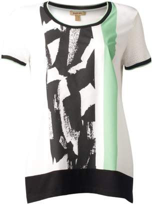 Bandolera White Print Top