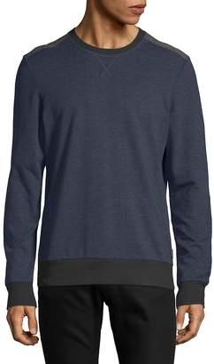 2xist Men's Heathered Crewneck Sweatshirt