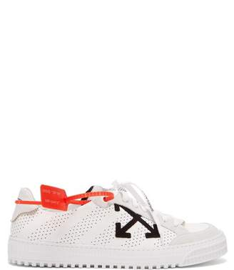 Off-White Off White 3.0 Polo Leather Trainers - Mens - White