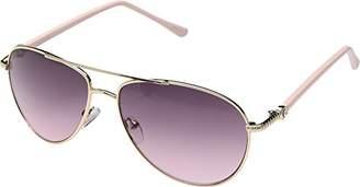 Steve Madden Women's S5187 Aviator Sunglasses