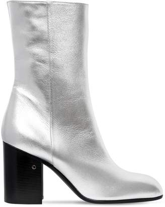 Laurence Dacade 90mm Sailor Metallic Leather Boots