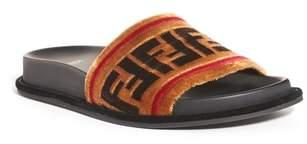 Women's Fendi Logo Slide Sandal