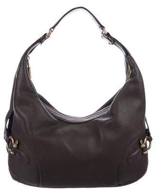 Burberry Leather Strap Hobo