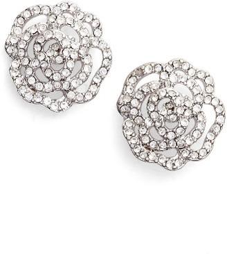 Women's Kate Spade New York Crystal Rose Stud Earrings $58 thestylecure.com