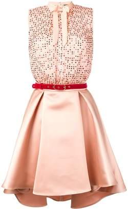 Elisabetta Franchi sequin short party dress