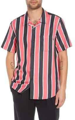 Obey Wicker Stripe Camp Shirt