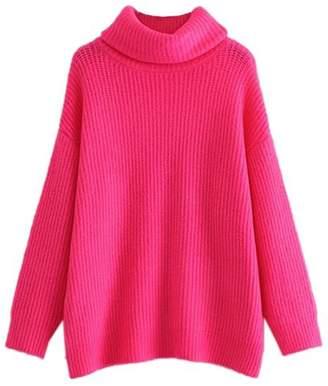 Goodnight Macaroon 'Ali' Oversized Turtleneck Sweater (2 Colors)