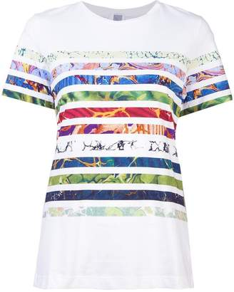 Rosie Assoulin striped print T-shirt