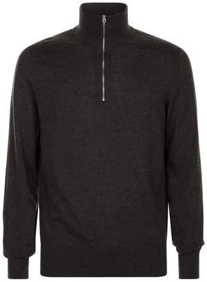 Burberry Half Zip Sweater
