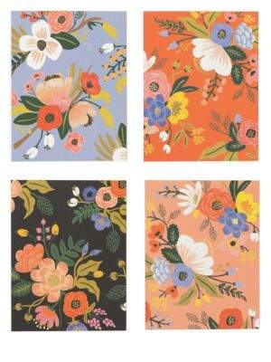Lively Floral Greeting Card/Set of 8