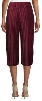 BCBGeneration Pleated Velvet Goucho Pants