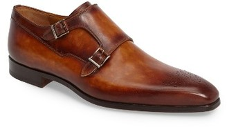 Men's Magnanni Donaldo Double Buckle Monk Shoe $435 thestylecure.com