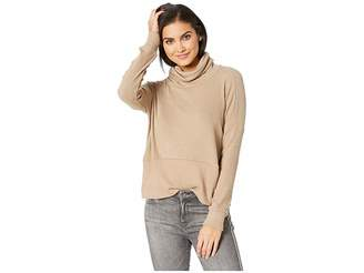 LnA Boxy Slub Sweater Turtleneck