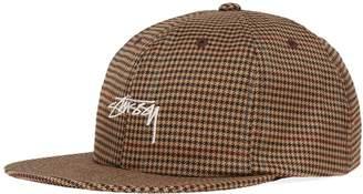 Stussy Small Check Strapback Cap