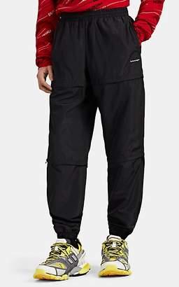 Balenciaga Men's Convertible Logo Track Pants - Black