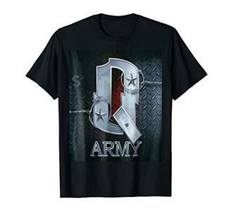 Q Anon T-shirt - American Flag The Army