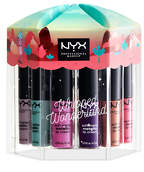 NYX Whipped Wonderland Soft Matte Metallic Lip Cream Vault