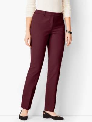 Talbots Bi-Stretch High-Waist Straight-Leg - Curvy Fit