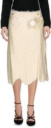 Haute 3/4 length skirts