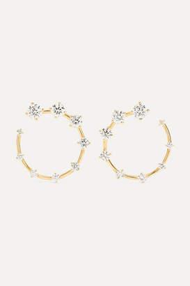 Fernando Jorge Circle Small 18-karat Gold Diamond Earrings