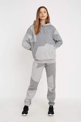 Urban Outfitters Adidas Originals,Adidas Original X Danielle Cathari adidas Originals X Danielle Cathari Grey Colourblock Sweatpants - grey UK 6 at