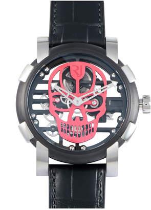 Romain Jerome Men's Skylab Speed Metal 48 Red Skull Watch