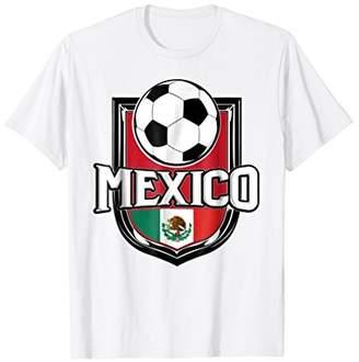 Mexico Soccer Ball T-Shirt | Mexican Flag Football Tee