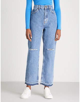 Sandro Fluffy denim jeans