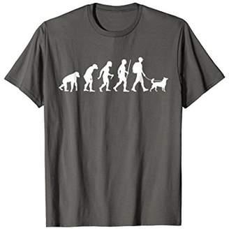 Evolution Of Dog Walking T-Shirt