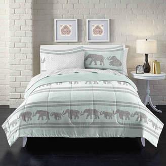 LOFT STYLE Style Boho Elephant Complete Bedding Set with Sheets