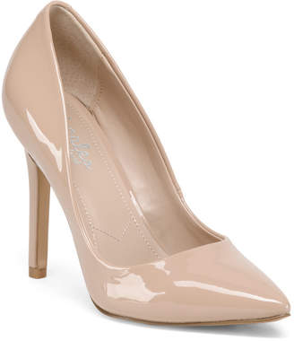 Patent Pointed Toe High Heel Pumps